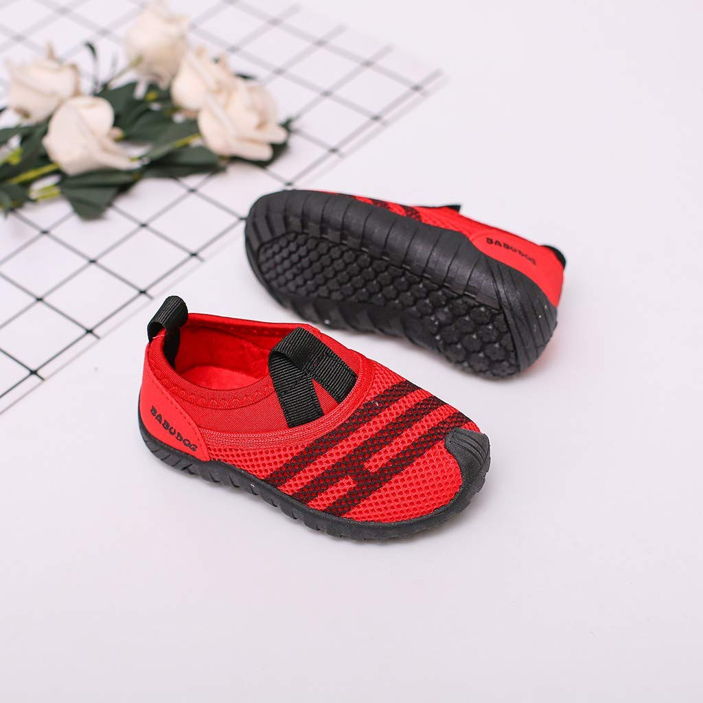 Girls Boy Kids Breathable Light Weight Athletic Running Casual Fashion Walking Sneaker Kstare Mesh Shoes for Baby