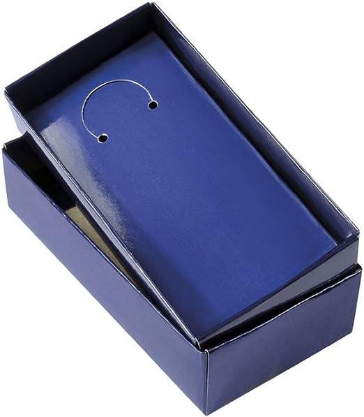 Ten Caja de cartón Azul cod.EL27131 cm 12,5x6,5x2,5h by Varotto & Co.: Amazon.es: Hogar