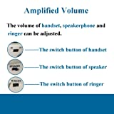 HePesTer P-011 Large Button Corded Phone for