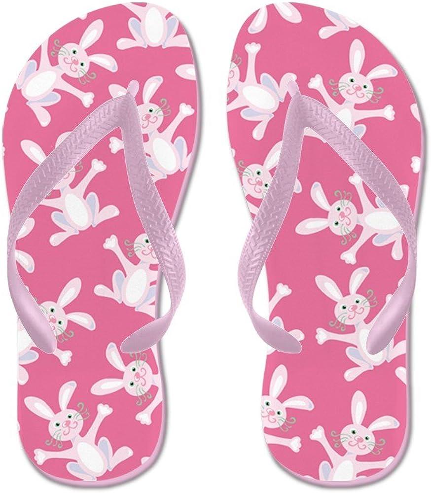 Flamingo Beach Flip Flops Women Unique Design Slippers Animal Print Pool Party