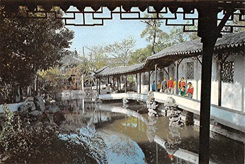 Corridor over Water, Humble Administrator's Garden Soochow China Postcard