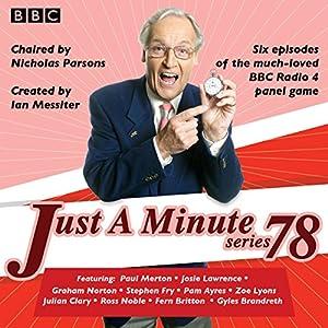 Just a Minute: Series 78 Radio/TV Program