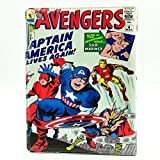 Marvel Comic Captain America The Avengers Design Leather Stand Case Smart Cover For Apple ipad 2 ,ipad 3 ,ipad 4