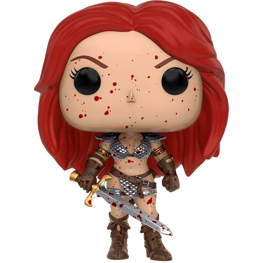 BCC9P12Y 12194 Heroes x Marvel Universe Vinyl Figure Funko Red Sonja 1 Official Marvel Trading Card Bundle PX Exclusive POP
