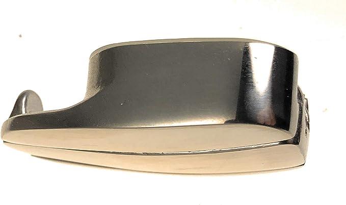 Fenderhalter Einhand-Bedienung Edelstahl A4 rund oder oval ARBO-INOX®