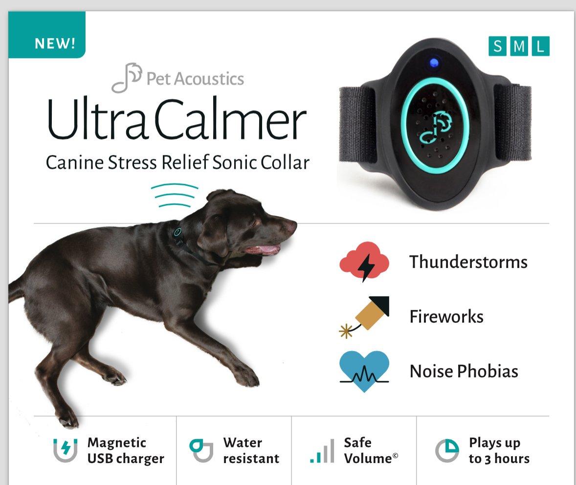 Amazon.com : Ultra Calmer - Dog Anxiety, Stress Relief Sonic Collar