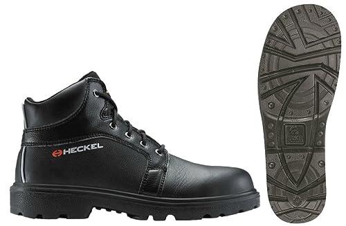Uvex Heckel bandera Titane Metal libre de seguridad botas negro, color Negro, talla 46
