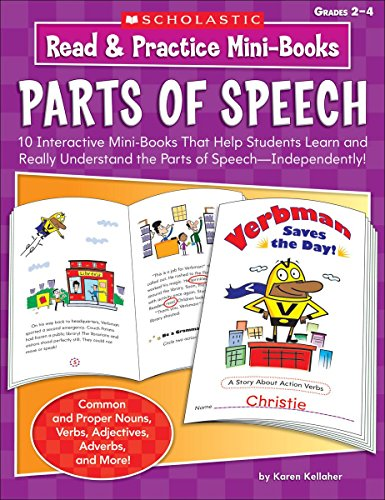 Read & Practice Mini-Books: Parts of Speech: 10 Interactive Mini-Books That Help Students Learn and Understand the Parts of Speech-Independently!