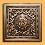 30pc of Majesty Bronze/Black (24''x24'' PVC 20 mil) Ceiling Tiles - Covers about 120sqft