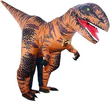 Amosfun Disfraz de dinosaurio inflable adultos: Amazon.es: Ropa y ...