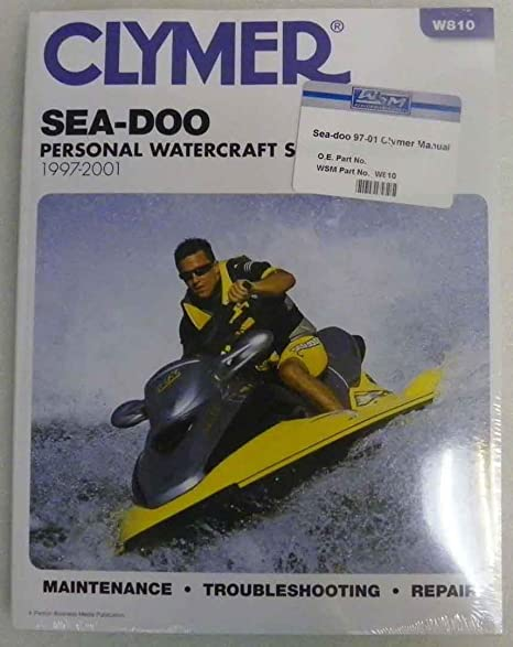 Seadoo manuals 1997 sea doo clymer manual 1997 2001 model gsgsigsx series amazon com sea doo clymer manual fandeluxe Image collections