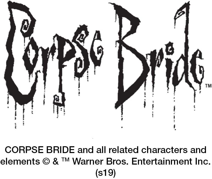 Corpse Bride Logo and Silhouette Novelty Metal Vanity Tag License Plate