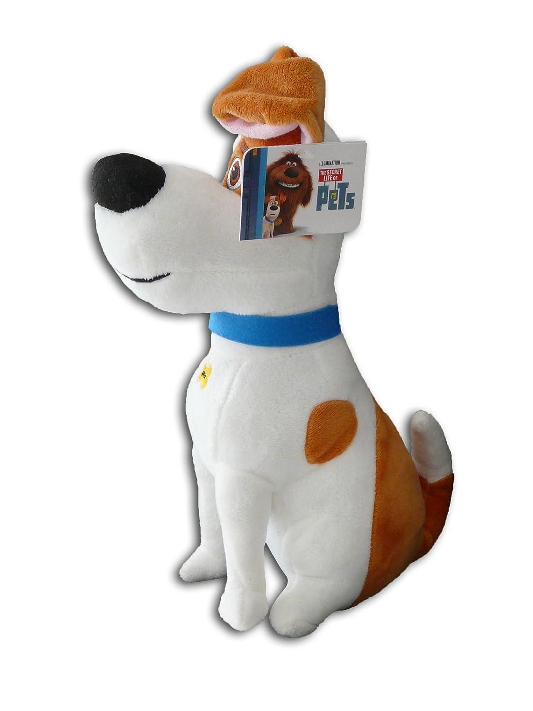 Max 30cm Terrier Protagonista Muñeco Peluche Perro Mascota La vida secreta de tus Mascotas Pets Pelicula Amigo Original Nuevo Super Suave Gran Calidad ...
