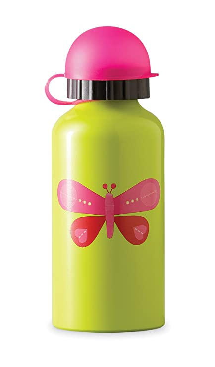Amazon.com: Crocodile Creek Butterfly - Botella para beber ...