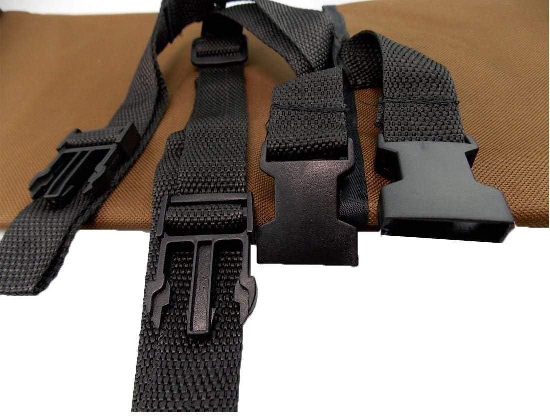 WSS 2 in 1 Telo Impermeabile per Bagagliaio Auto Copri Sedile Cane Gatto Protezione Tappeto di Rivestimento per Bagagliaio Marrone