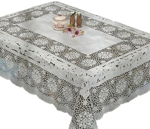 RJ Quality Product 991-60x104 Design Crochet Tablecloth, used for sale  Delivered anywhere in Canada