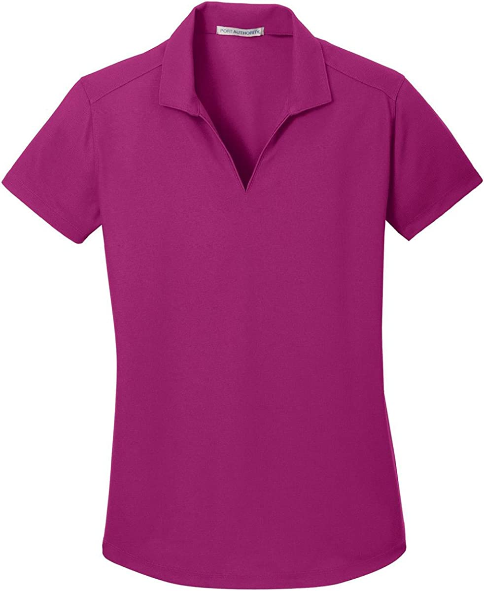 Port Authority Womens Durable Dry Zone Grid Polo Shirt