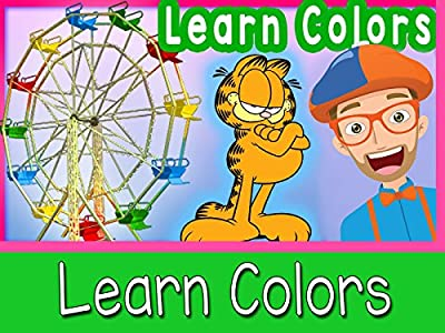 Learn Colors for Toddlers - Blippi At A Theme Park