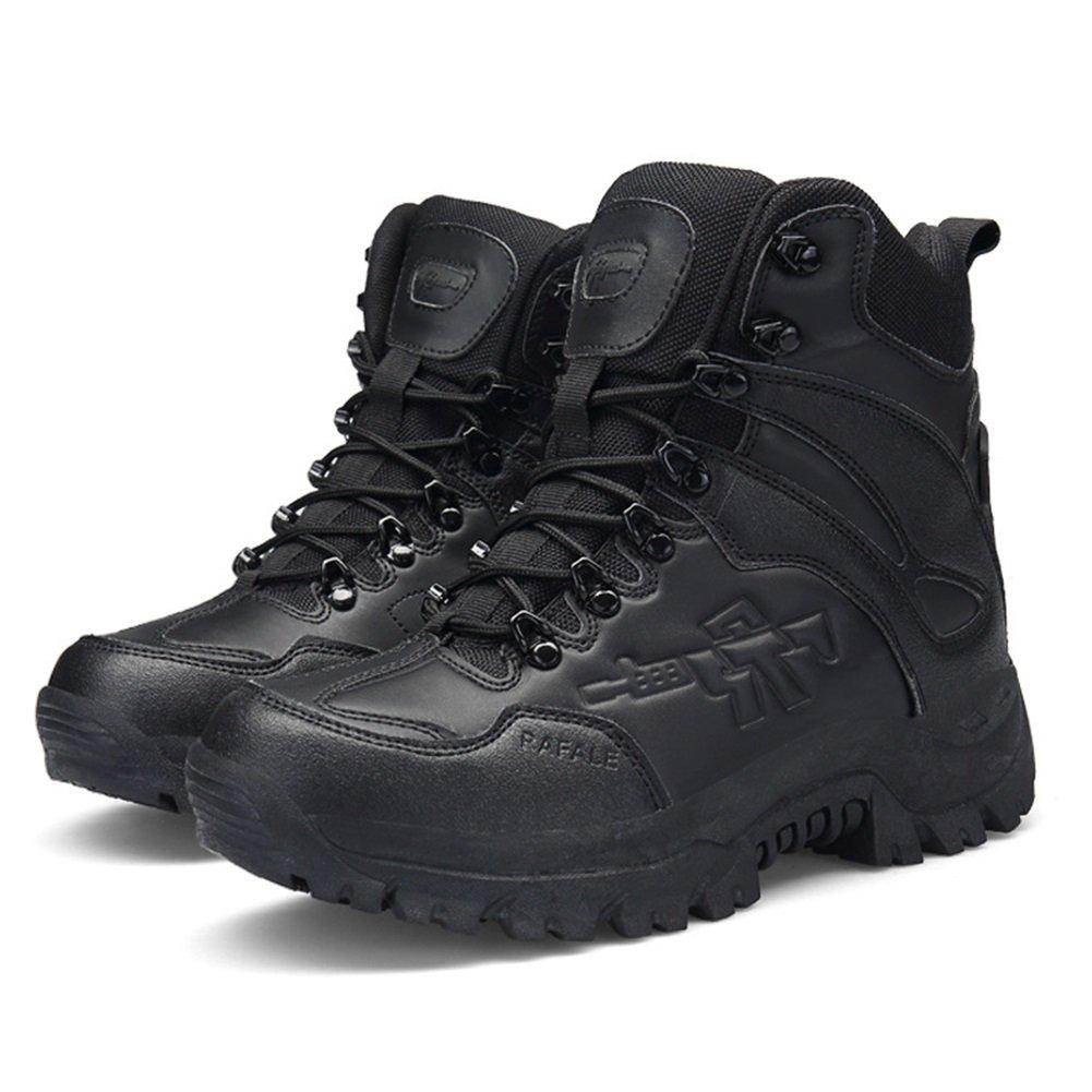 New Zapatos de Senderismo para Hombre Microfibra sintética PU/Nubuck Cuero Otoño/Invierno Confort/Botas de Moda Zapatos de Senderismo/Botines/Zapatos para Caminar Botines EU Size 41 EU|002