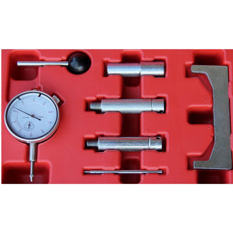 Einspritzpumpe Einstellwerkzeug Einstellen Messuhr F/örderbeginn Dieselpumpe 7-teilig