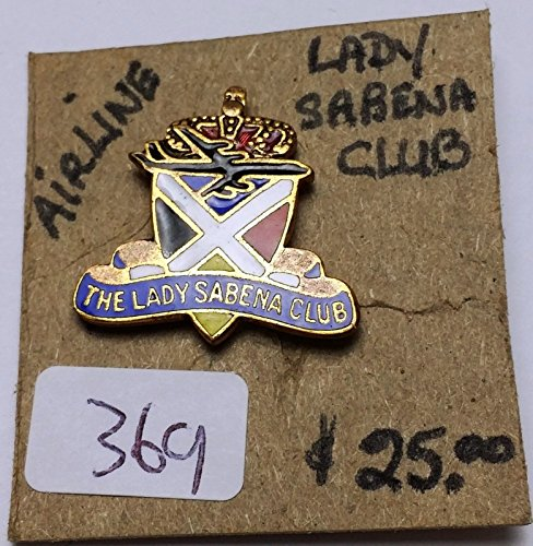 RARE VINTAGE THE LADY SABENA CLUB AIRLINE MEMBERSHIP for sale  Delivered anywhere in USA