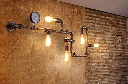 Jiangjie lampada da parete tubo di acqua industriale teste luce