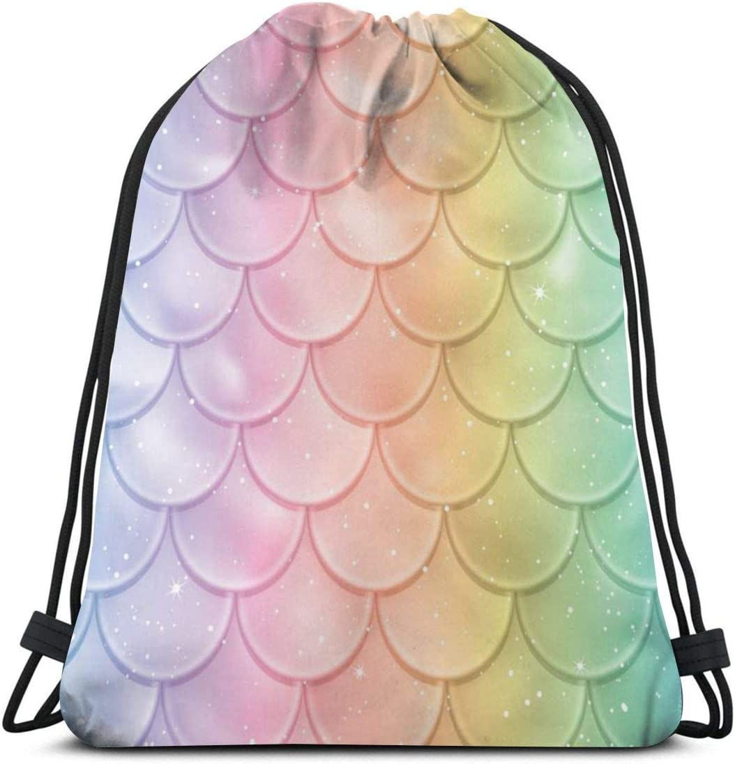 Travel Duffels Seamless Pattern With Mermaids Duffle Bag Luggage Sports Gym for Women /& Men
