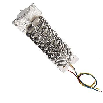 Aexit AC 220V con cable de mica de hierro calentador eléctrico ...