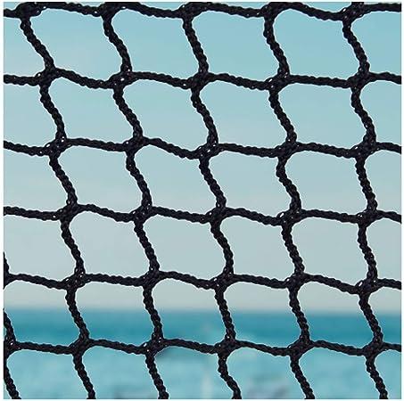 Red Cuerda Seguridad,Red Cuerda Negra Escalera Bebe de Terraza Seguridad Niños Deportes Escaleras Protección Gatos para Balcones Malla Nylon Goal Net Nets Redes Bola Campo Aire Libre FúTbol Golf Bola: Amazon.es: Hogar