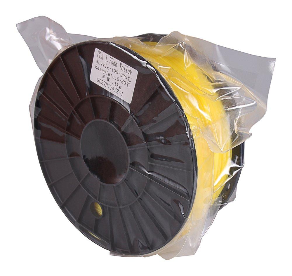 Patona 3d printer PLA filamento amarillo (Bobina/1 kg/1,75 mm ...