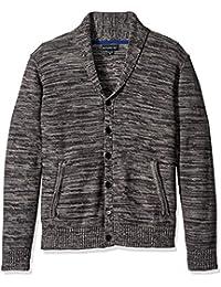 Men's Shawl Neck Sweater