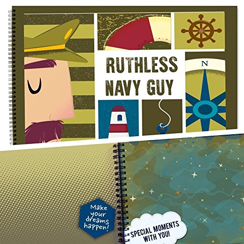 US NAVY GIFTS, Pillow & Toast, Limited Edition, Recognition Award Personalizable Booklet With Matching Card Included, Ready To Fill and Give as a Present, Navy Gift, Army Gifts. (Navy Deployment Care Package Ideas)
