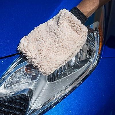Chemical Guys MIC_491 Extra Thick Multi-Fiber Microfiber Wash Mitt: Automotive