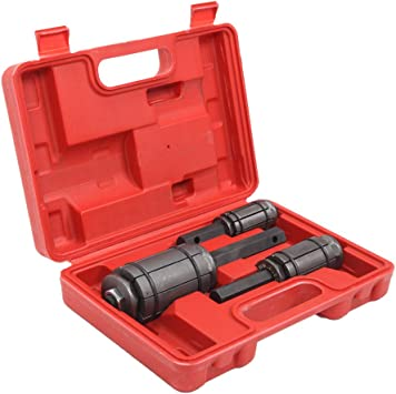 Tail Pipe Expander 3pcs//Set Exhaust Muffler Spreader Tool Boxes 1-1//18 to 3-1//2