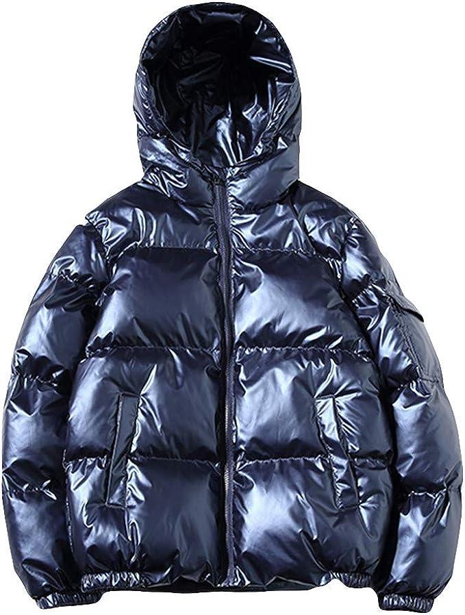 LeeMon(Sparen Sie 30%) Damen Winter Daunenmantel Daunenjacke Hoodie Frauen Winter Einfarbig Winterjacke Jacke Mantel Slim Fit Kaputzen Mode Parka