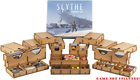 docsmagic.de Organizer Insert for Scythe Legendary Box - Encarte ...
