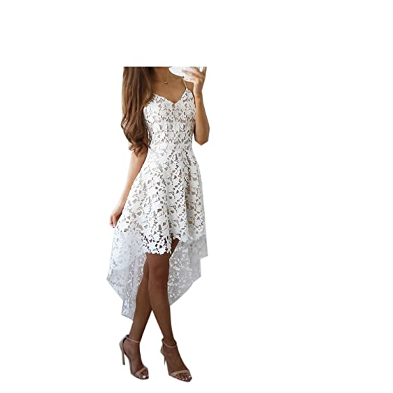 Eloise Isabel Fashion Mulheres vestidos de renda NEW bonita do laço floral slip dress evening elegante
