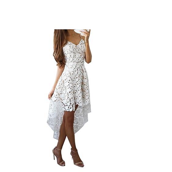 Eloise Isabel Fashion Mulheres vestidos de renda NEW bonita do laço floral slip dress evening elegante