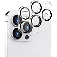 [2 Pack] ZUSLAB Camera Lens Screen Protector for iPhone 13 Pro/iPhone 13 Pro Max Tempered Glass-Anti-Scratch 9H Hardness…