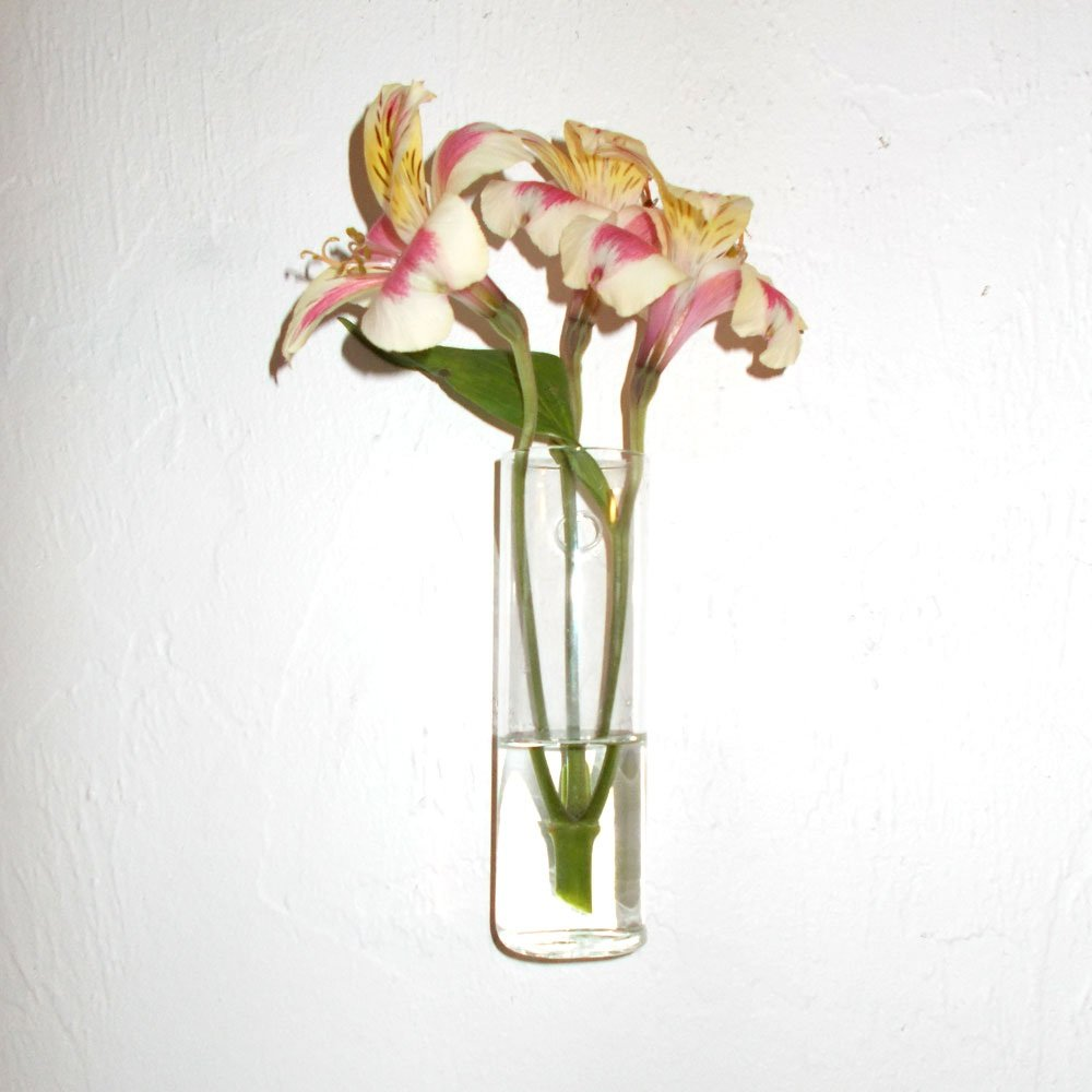 Amazon hand blown glass wall vase home kitchen reviewsmspy