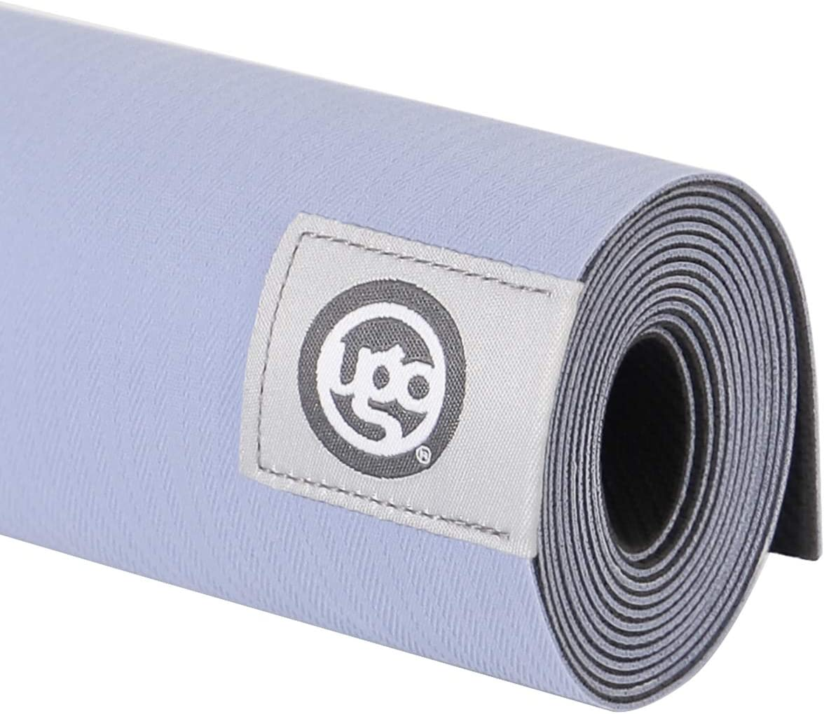 UGO Yoga Mat Pilates and Floor Exercises Fitness Eco Friendly and Natural Rubber Non-Slip Travel Mat 1.5MM