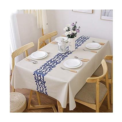 Tovaglia Per Tavolo Esterno.Congming Tablecloths Tovaglioli Di Stoffa Runner Da Tavolo