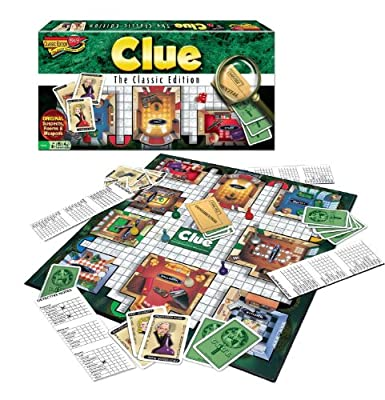 Clue The Classic Edition 3-Pack