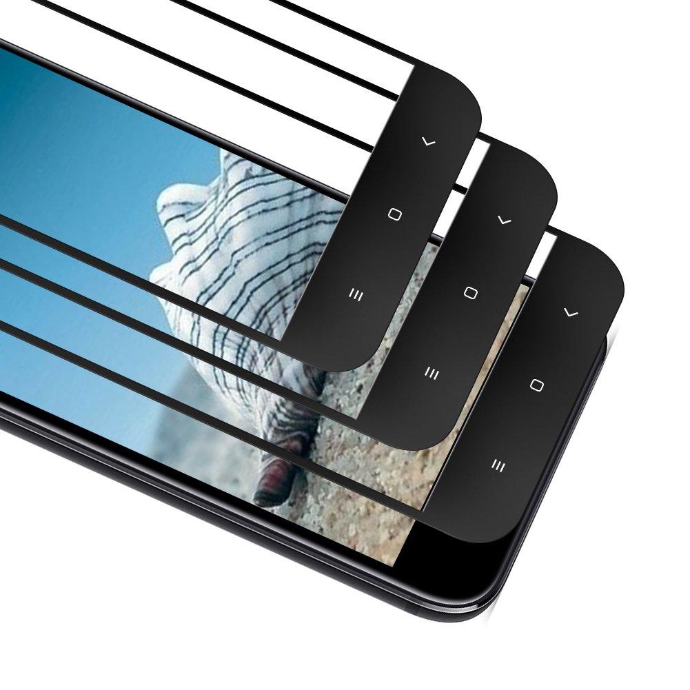 SAKYO [3 Unidades] Protector de Pantalla Vidrio Templado para Xiaomi Mi A1/Mi 5X, [9H Dureza] [3D Touch], Ultra Resistente a Golpes Sin Burbujas de ...