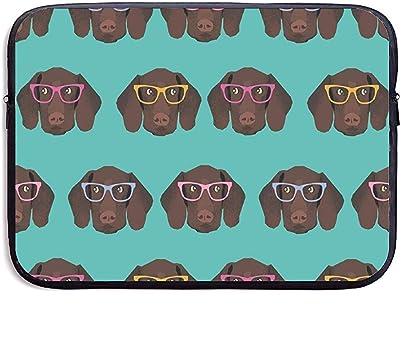 Puntero de Pelo Corto alemán en Gafas Bolsa para portátil de 15 Pulgadas: Amazon.es: Electrónica