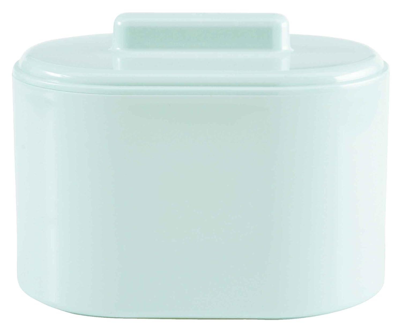 bébé-jou 421226 Kombidose, Hygienebox, Kosmetikdose, Utensilienständer, mintgrün Utensilienständer mintgrün