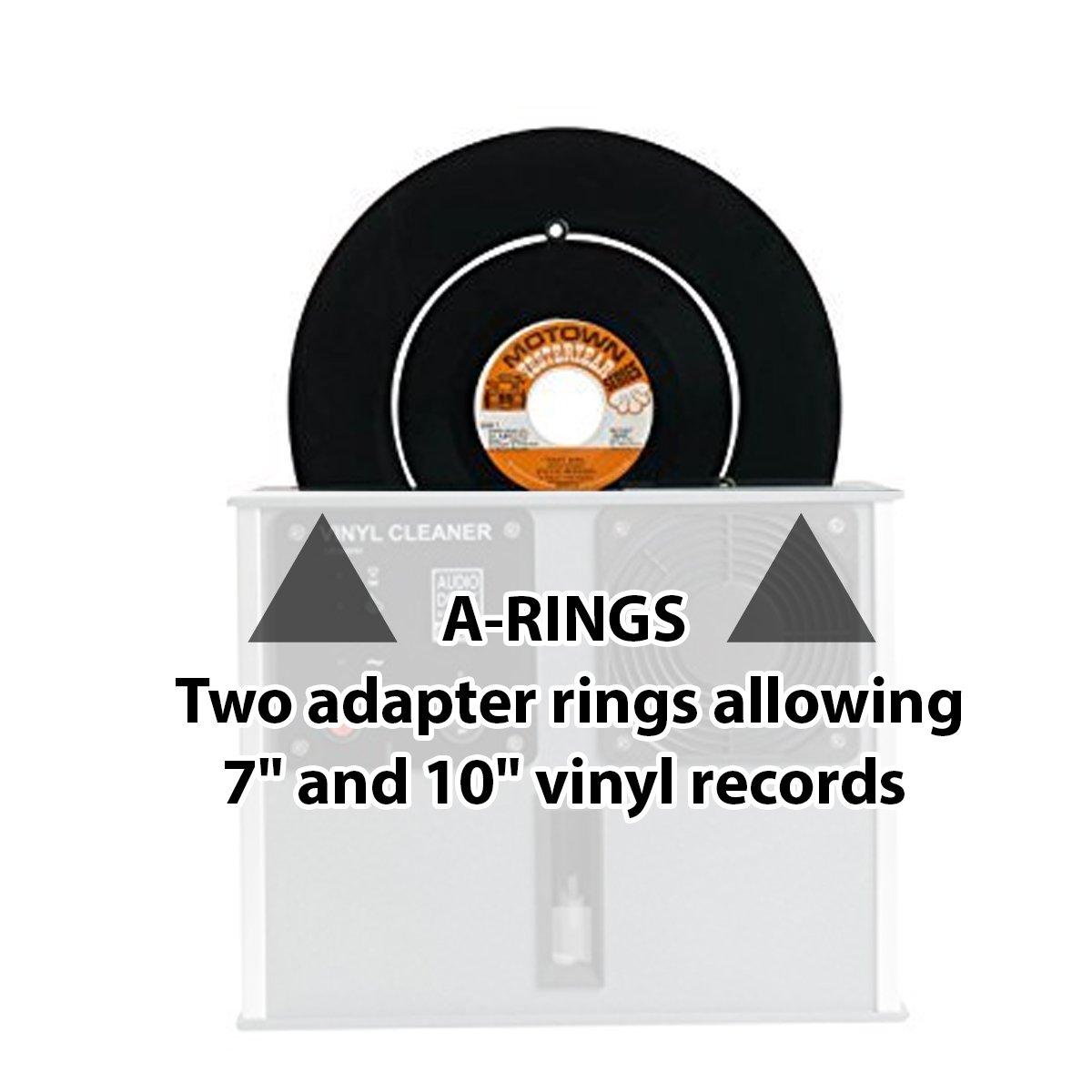 a-ringsのセットfor theオーディオデスクSystemeビニール、レコード、アルバム、LPクリーニングマシン B014HT5WC0