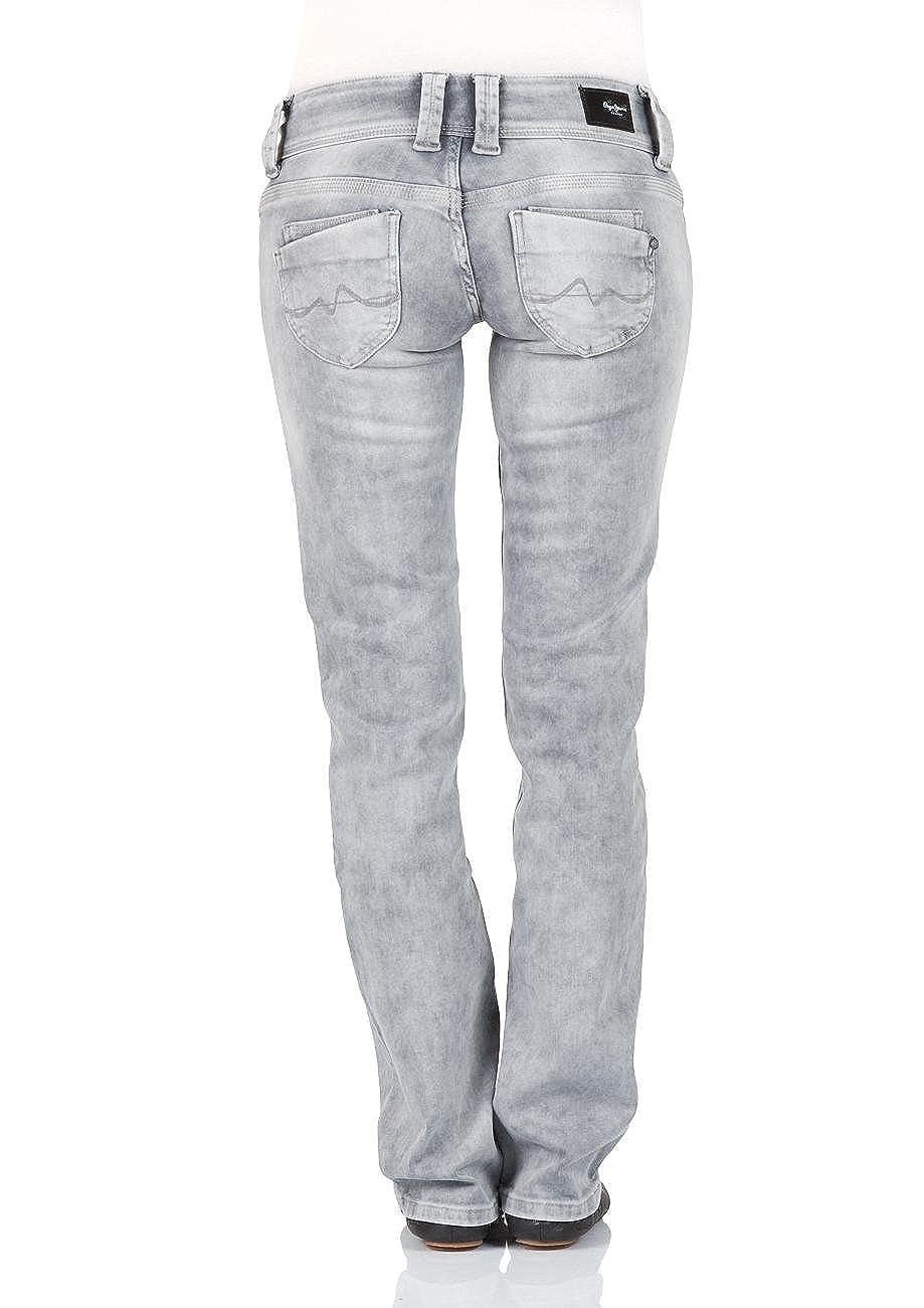 Pepe Jeans Damen Jeans Venus - Regular Fit - Grau - Grunge Grey, Größe W 25  L 34 Farbe Grunge Grey (F80)  Amazon.de  Bekleidung 7c15348ffa