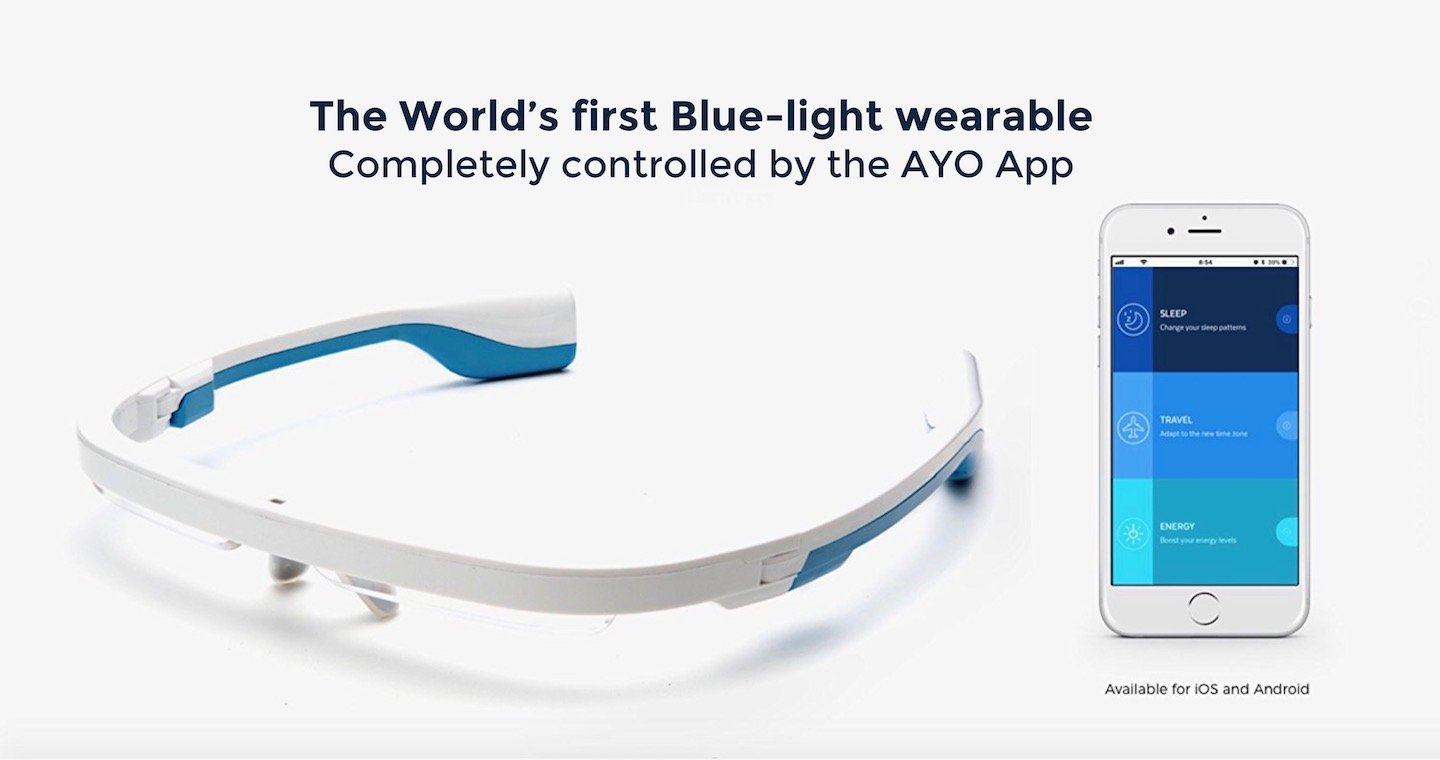 AYO: Blue-light wearable that helps you sleep better, beat jet lag and boost your energy! Completely controlled by the goAYO App. by AYO (Image #9)