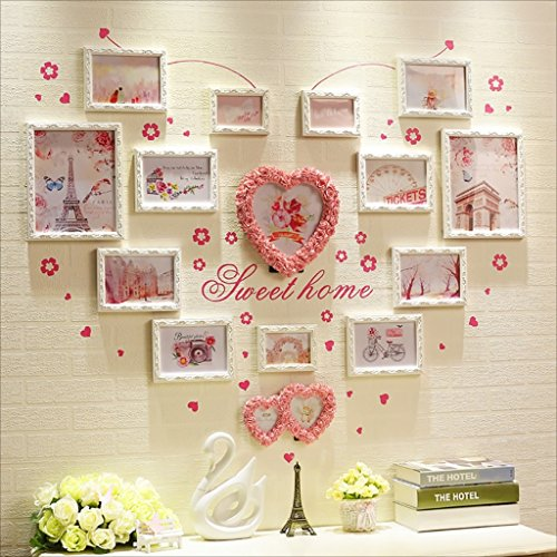 Multi Picture Frame Set, Large Photo Frame Wall Set, Best Wall Decorations ( Color